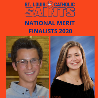 Hebert, Obluda Named National Merit Finalists