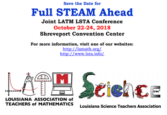 5. LATM/LSTA Joint Conference: Full STEAM Ahead