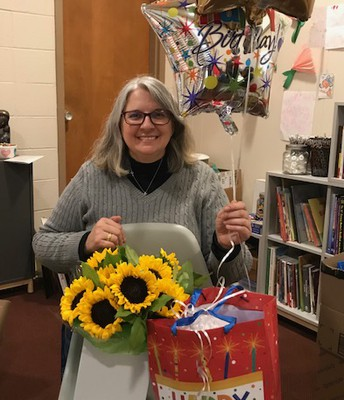 Thank you to all the students and families for the wonderful gifts and for making this a very special 50th birthday!!!