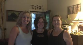 Sharon, Karen, and Laurie