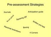 Pre-assess