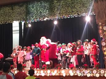 Santa in Winter Concert