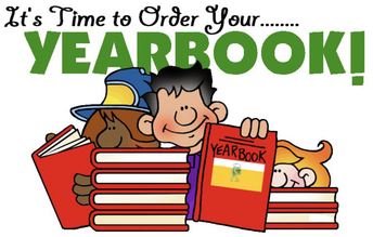 YEARBOOK ORDER DEADLINE EXTENDED UNTIL 4/21!