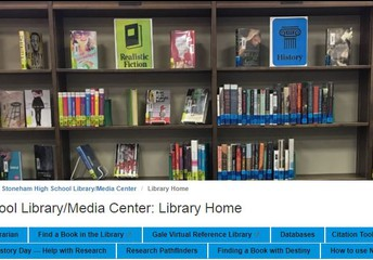 Don't forget  the Library Website: located on the SHS Website