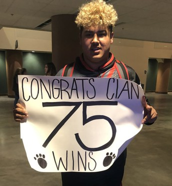 Cian Buehler Places at State Wrestling