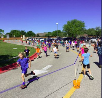 PTA Healthy Husky Walk-a-thon and 1st Silver Shoe
