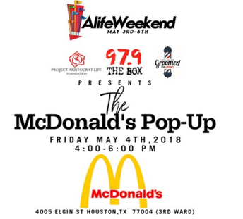 The McDonald's Pop Up