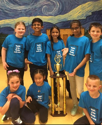 Battle of the Books: District Champions!
