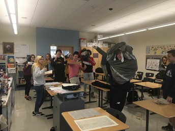 Hands-On History with Mr. Houston