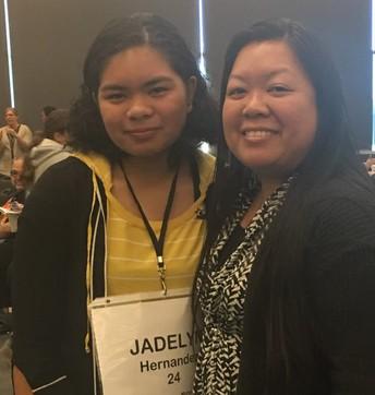 Jadelyn Hernandez Represents VHMS at the Riverside County Spelling Bee