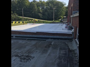 West Campus Library Roof Overlay