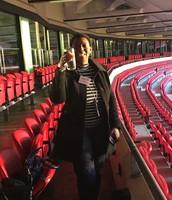 Jenni @ wembley Stadium