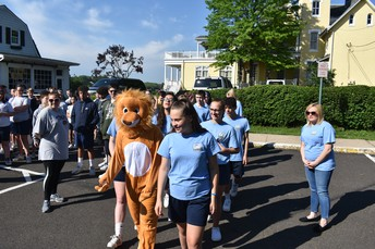 8th Grade led the way on their last Race for Education.