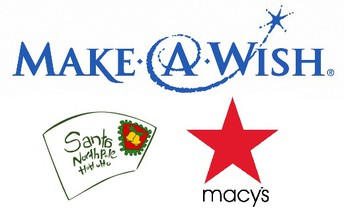 Letters to Santa Generate $1.00 to Make a Wish Foundation!