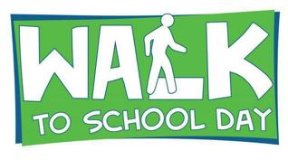 National Walk to School Day!