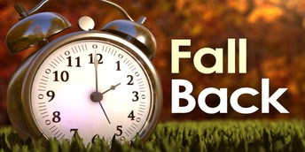 Daylight Savings Time - Sunday, November 4th at 2 a.m.