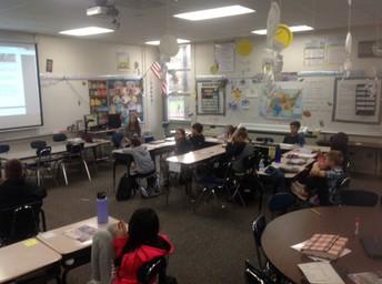 Mrs. Rizza's 5th Grade Class