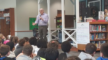 Gordon Korman visit