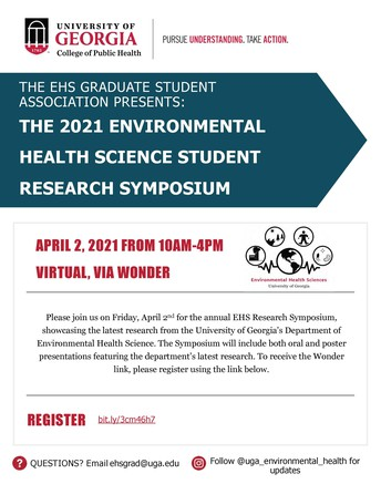 Environmental Health Research Symposium This Friday
