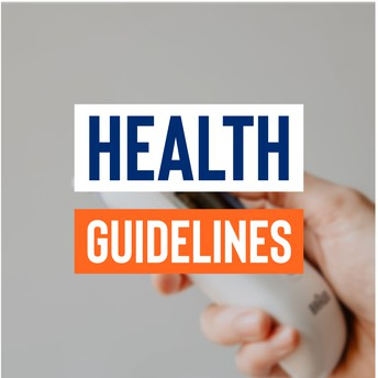 Health Guidelines graphic