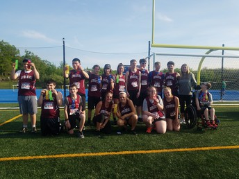 Unified Track Team Finishing the Season Strong