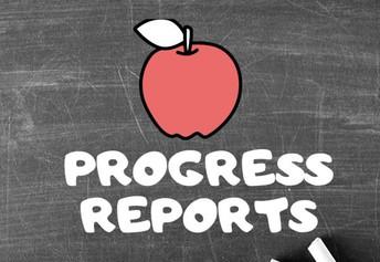 2021-2022 Progress Report schedule
