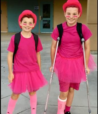 Pink Day at MBMS