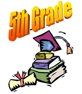 5TH  GRADE ACTIVITIES - WEDNESDAY, May 29th