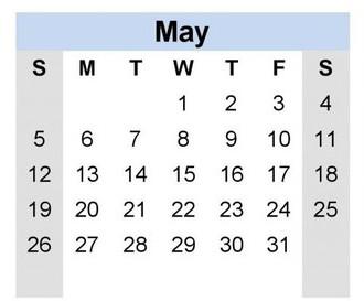 Finishing Up the Year! (Important Dates)