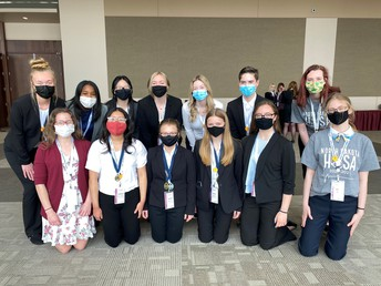 South HOSA Chapter Places at Leadership Conference