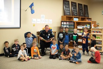 Read aloud by our Putnam City Police Officers!