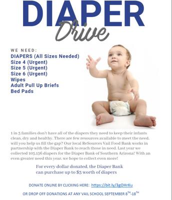 Vail Diaper Drive