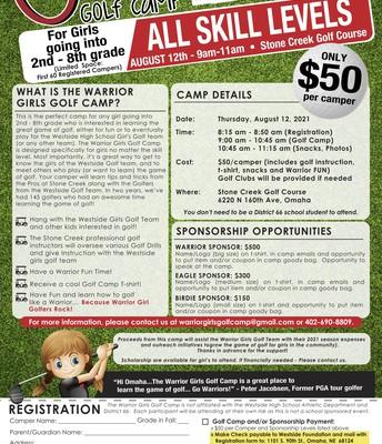 Girls Golf Camp
