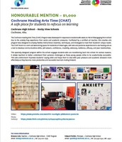 Ken Spencer National Award - 2016 Honorable mention