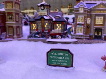 welcome to wonderland! your home for the holidays