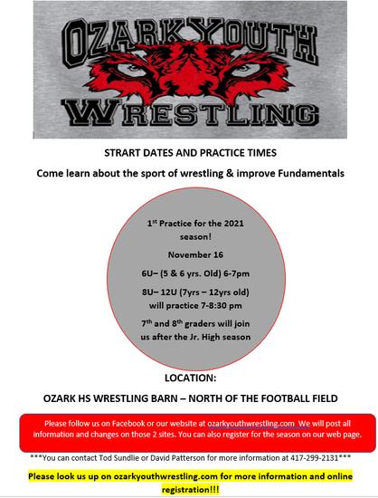 Ozark Youth Wrestling