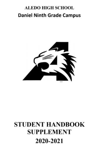 Daniel Ninth Grade Campus Student Handbook Supplement