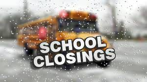 School Closings Due to Weather