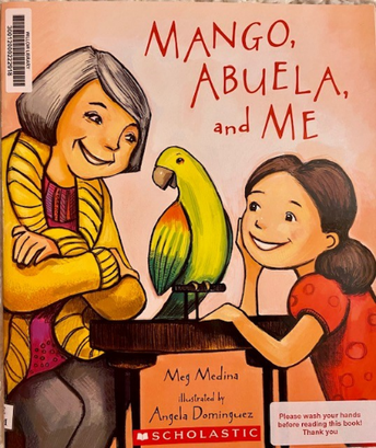 "Book Review- ""Mango, Abuela and Me"""