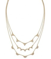 Chevron Pave Necklace in Gold- $79 SOLD