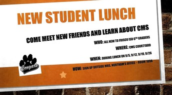 New Student Lunch