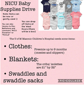 (New) FCCLA NICU Baby Item Collection