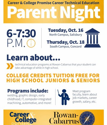 CCP & CTE Parent Night