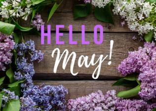 Upcoming May Calendar