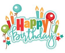 Birthdays to Celebrate!