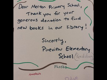 Pineview-Reedsburg Thanks You!