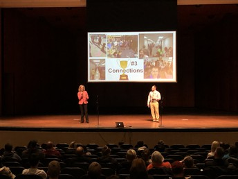 Dr. Powers and Mr. Wilkins highlight 14 key points to the freshman year transition!