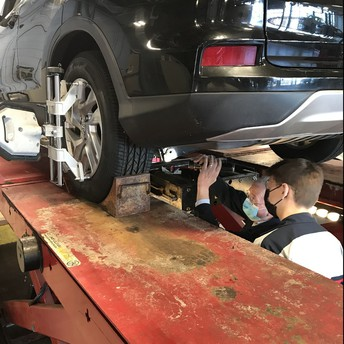 Wheel Alignment in Auto Repair!