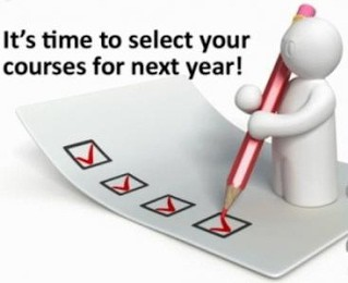 Last Week for Students to Choose Courses for Next Year!