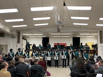 Winter Concert with the Green Machine